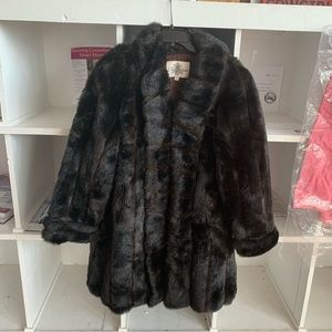 Oleg Cassini fur coat
